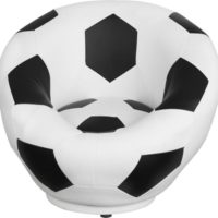 Karla Dubois kids soccer swivel chair