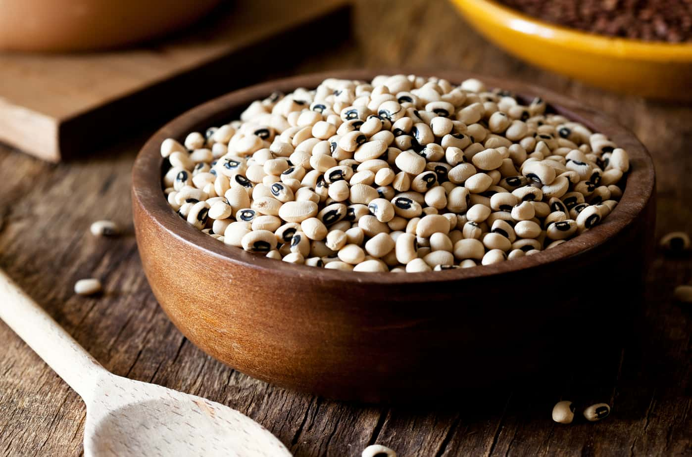 dried black eyed peas