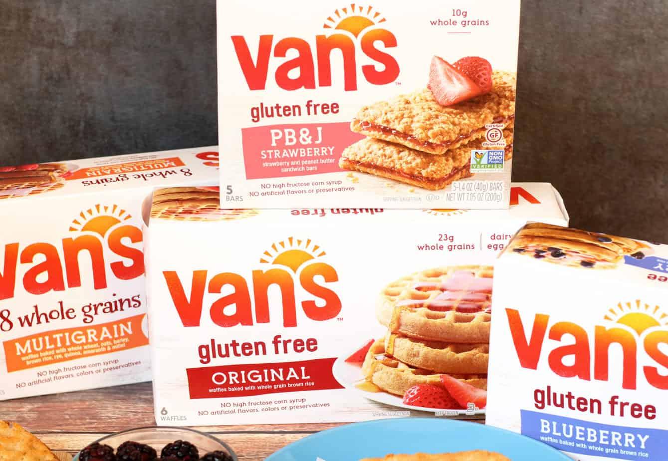 van's gluten free products