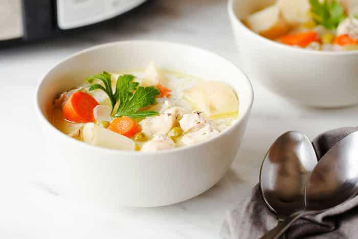 Crockpot Coconut Chicken Stew