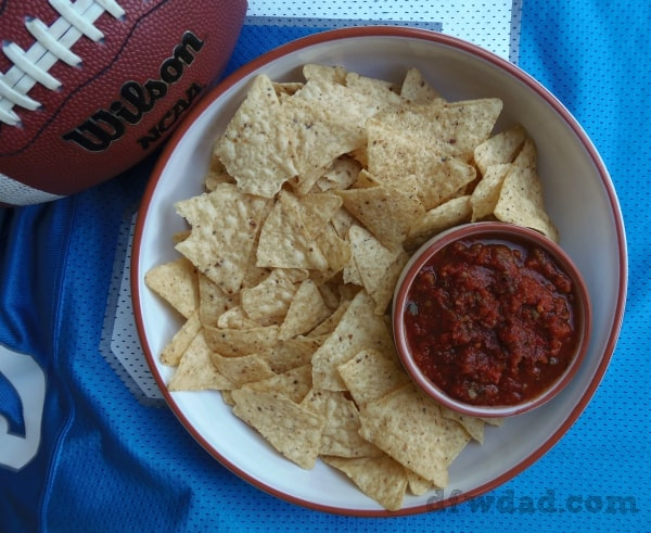 Fire Roasted Game Day Salsa