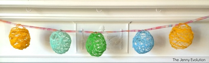 DIY Easter Egg Garland for the Holiday