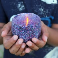 How to make beautiful Galaxy Tealight Holders