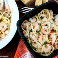 Seafood Lemon Garlic Pasta