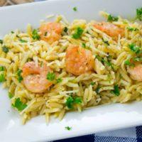 Easy & Delicious Shrimp Scampi Orzo