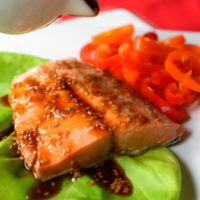 The Easiest Pressure Cooker Teriyaki Salmon