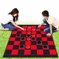 Zooma Sports Jumbo Checkers Set