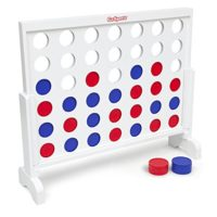 GoSports Giant Wooden 4 in a Row Game