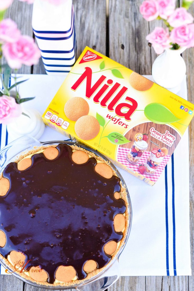 Chocolate Eclair Pie Plus Easy Spring Centerpiece