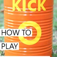 How to Play the Game Kick the Can + DIY Unique Can Tutorial