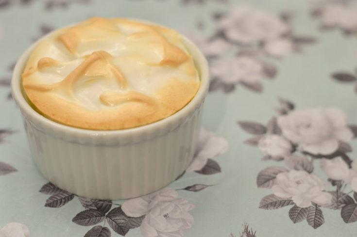 Mini Crustless Lemon Meringue Pies