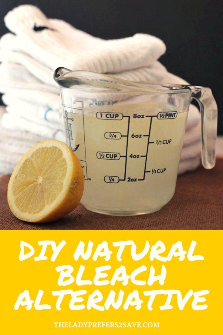 DIY Natural Bleach Alternative