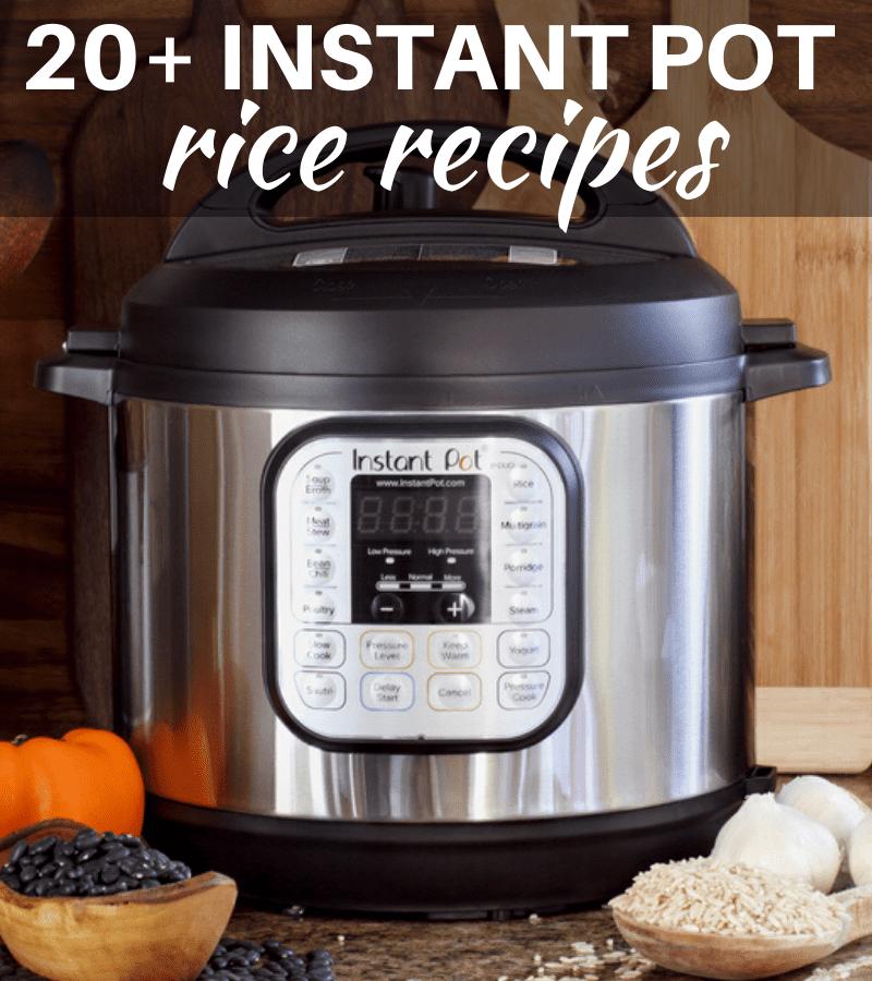20 instant pot rice recipes