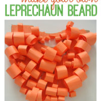Leprechaun Craft - Make A Beard