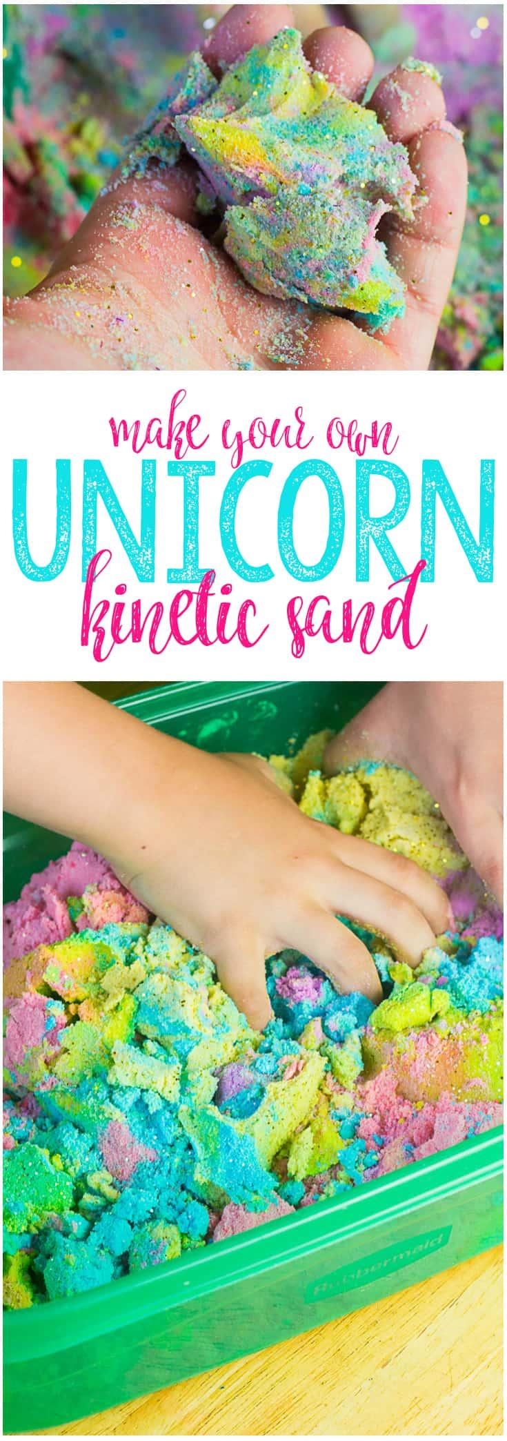 Unicorn Kinetic Sand