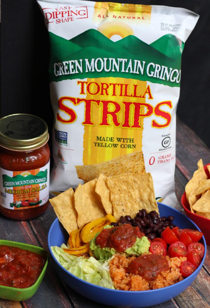 green mountain gringo vegetarian burrito bowl