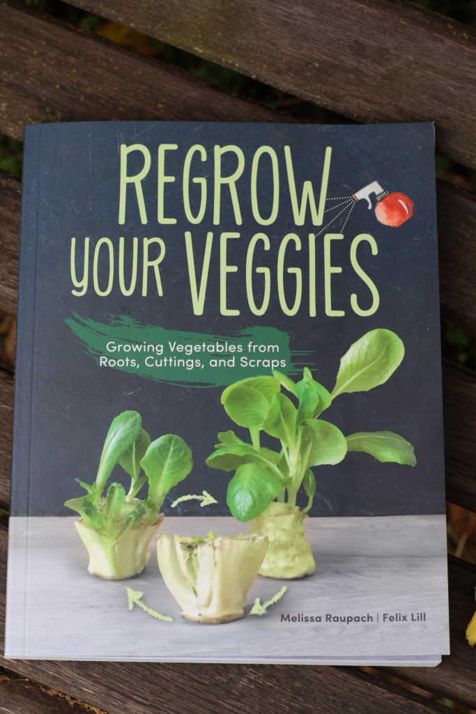 regrow your veggies book - how to regrow your vegetables