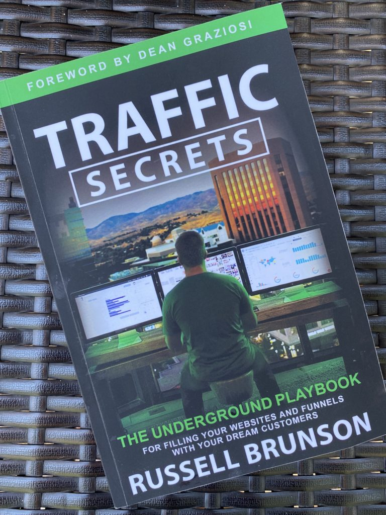 increase traffic with traffic secrets by russell brunson
