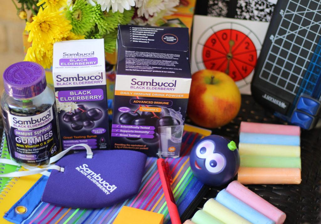 sambucol teacher gift basket