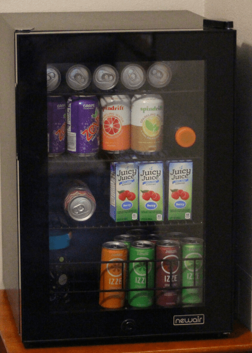 home beverage fridge newair