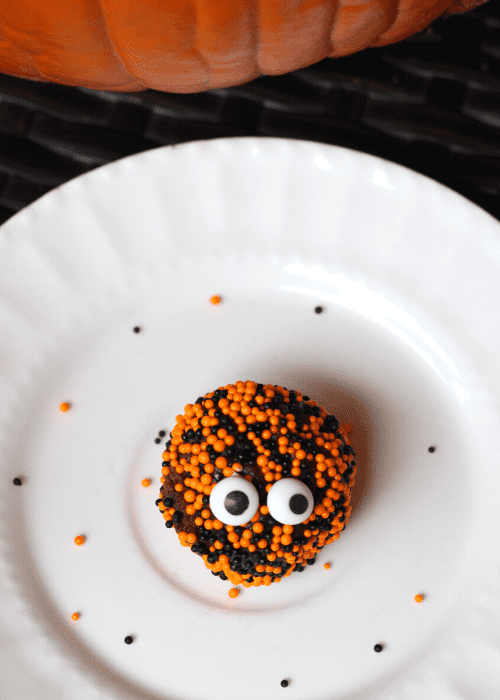 halloween brownie bites monsters