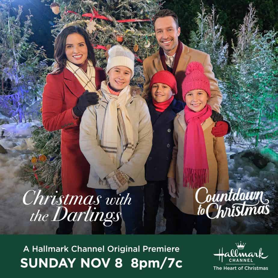 hallmark channel christmas with the darlings