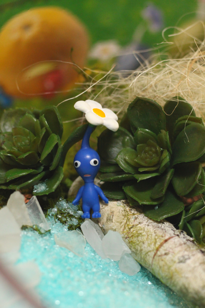 blue pikmin deluxe
