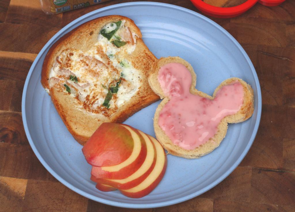 oroweat disney egg white omelette bread