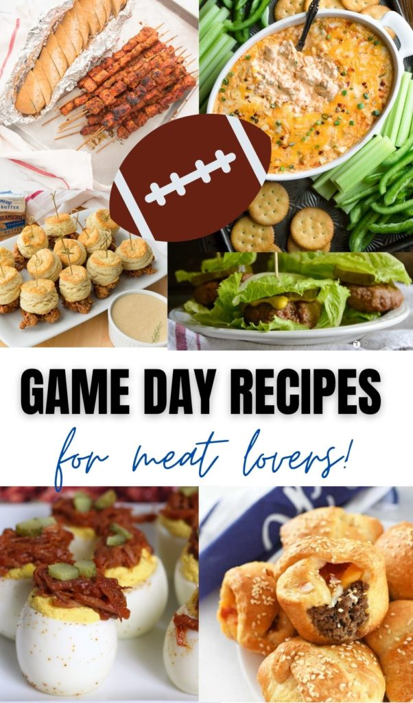 game day recipes for meat lovers