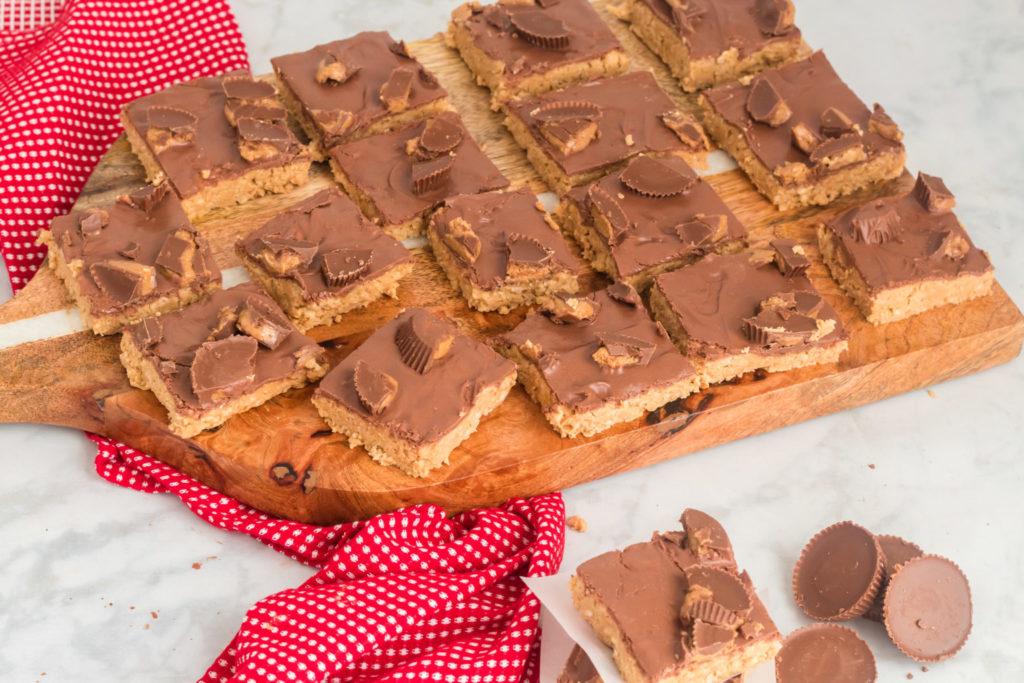 reese's pb chocolate crispy bars ginger casa.com