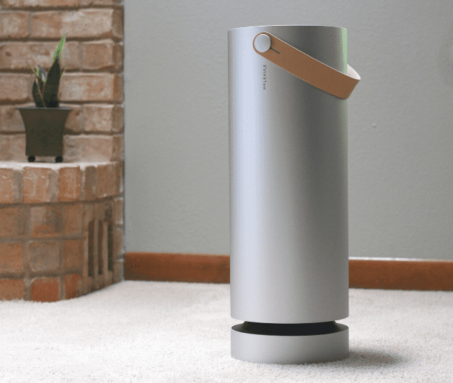 how to clean the air in your home - molekule air purifier