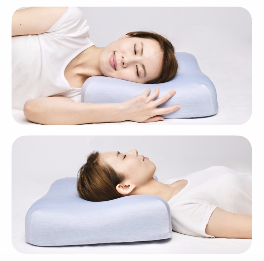 cooling neck support contour pillow